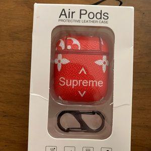 Supreme Accessories Airpods Case Poshmark